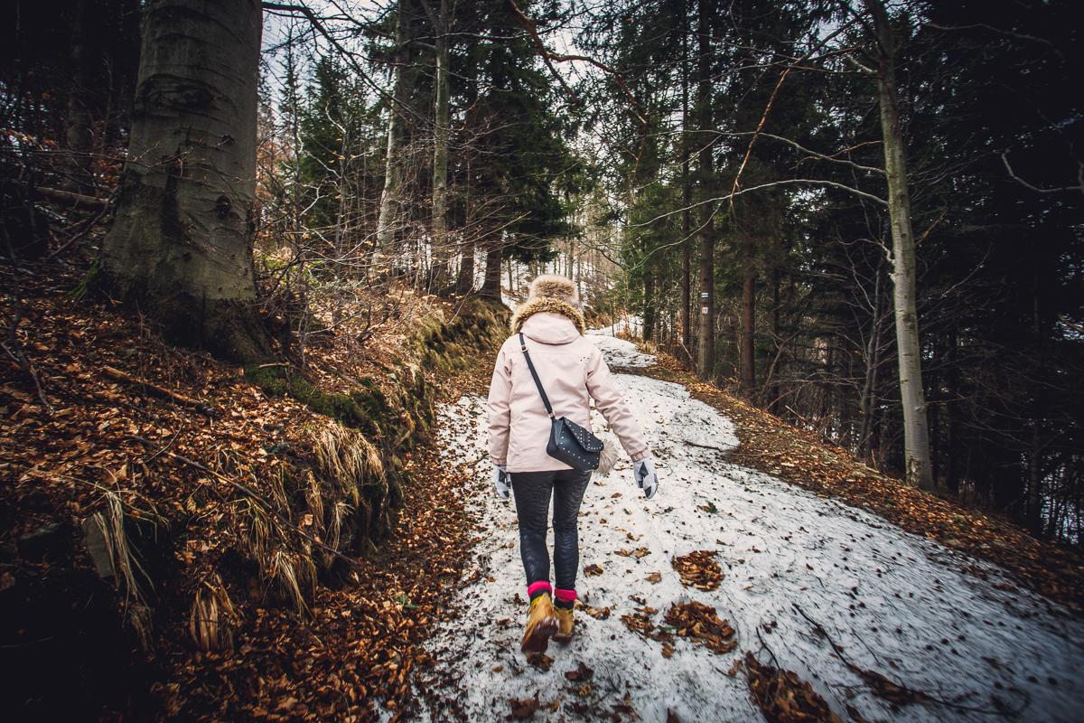 Szczyrk Skrzyczne spacer zielonym szlakiem fotografie-12