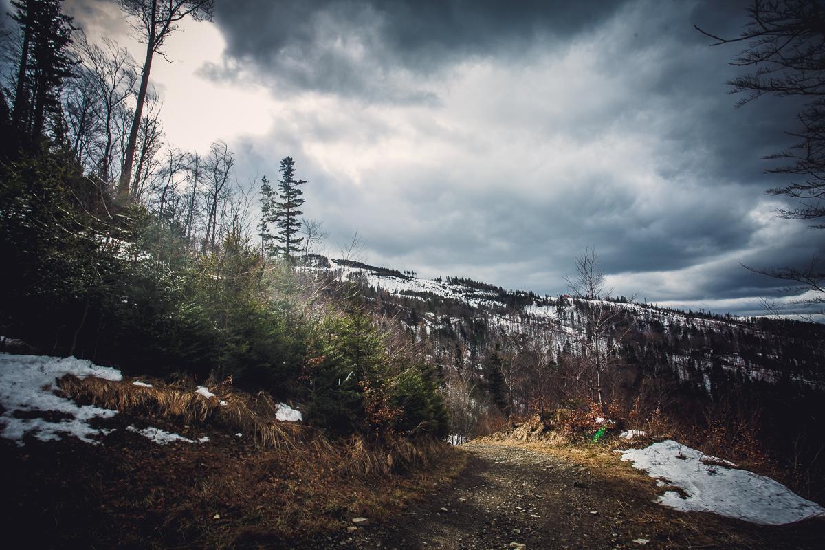 Szczyrk Skrzyczne spacer zielonym szlakiem fotografie-13