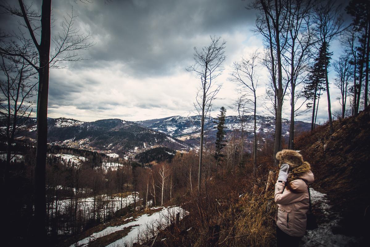 Szczyrk Skrzyczne spacer zielonym szlakiem fotografie-18