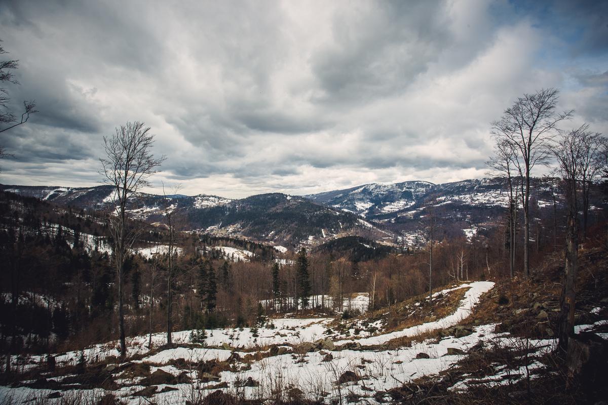Szczyrk Skrzyczne spacer zielonym szlakiem fotografie-19