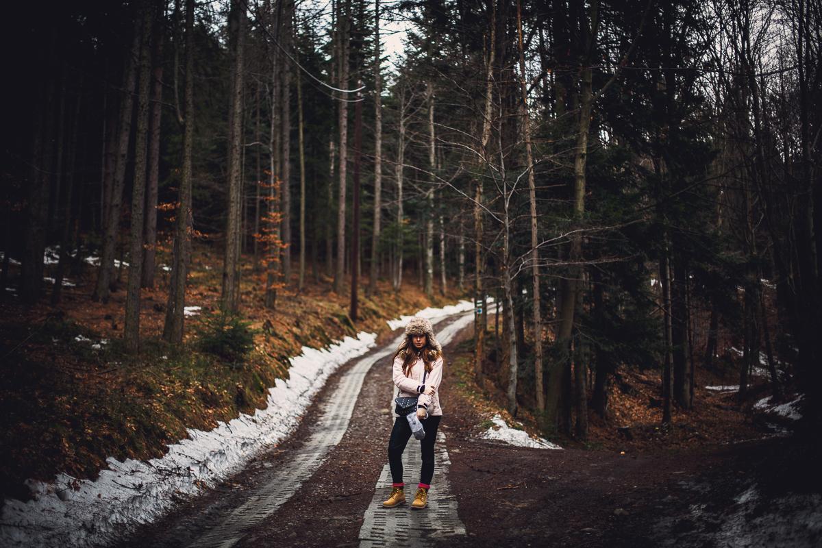 Szczyrk Skrzyczne spacer zielonym szlakiem fotografie-5