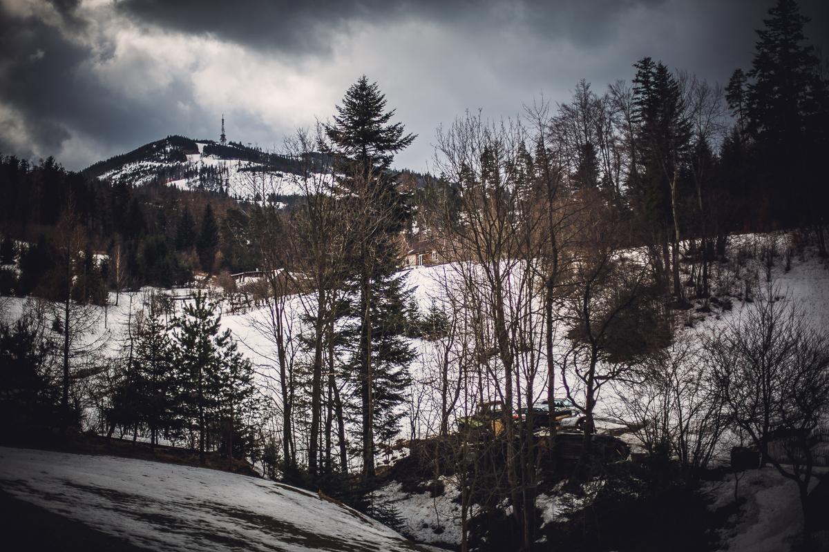 Szczyrk Skrzyczne spacer zielonym szlakiem fotografie-7