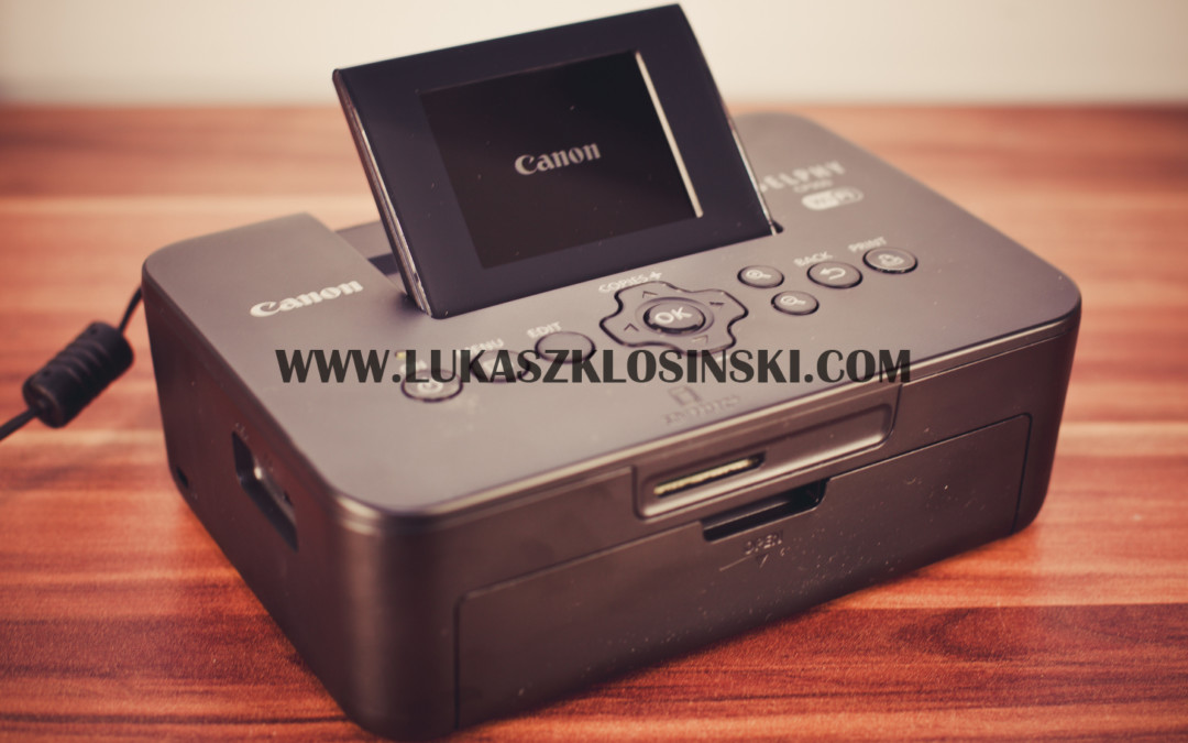 CANON SELPHY CP900 recenzja i test
