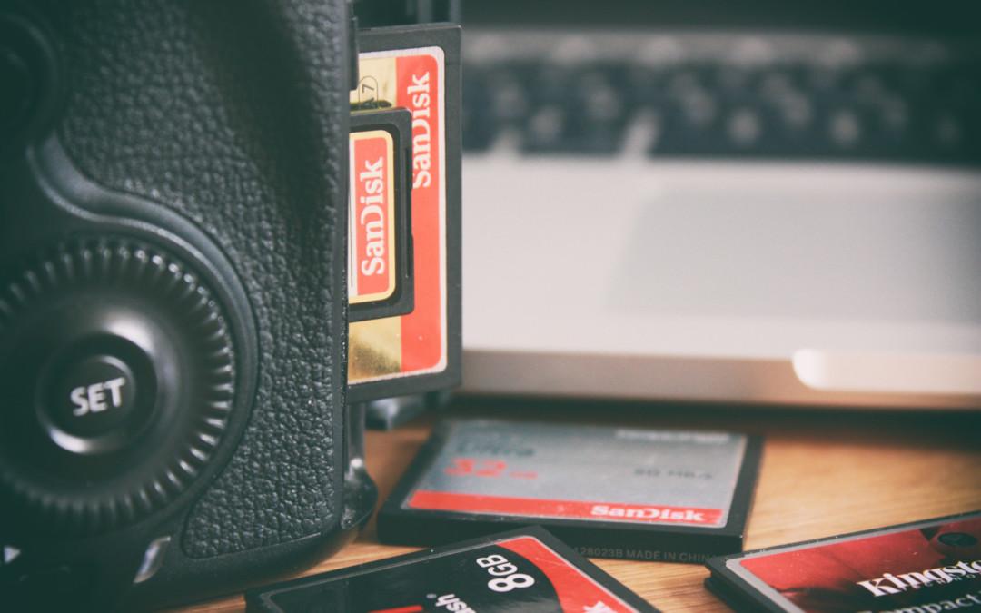 Karty pamięci – jak nie stracić zdjęć?