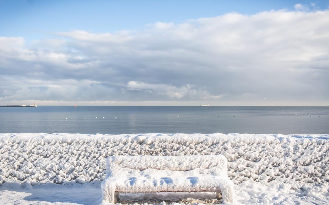 Gdynia, śnieg, mróz…