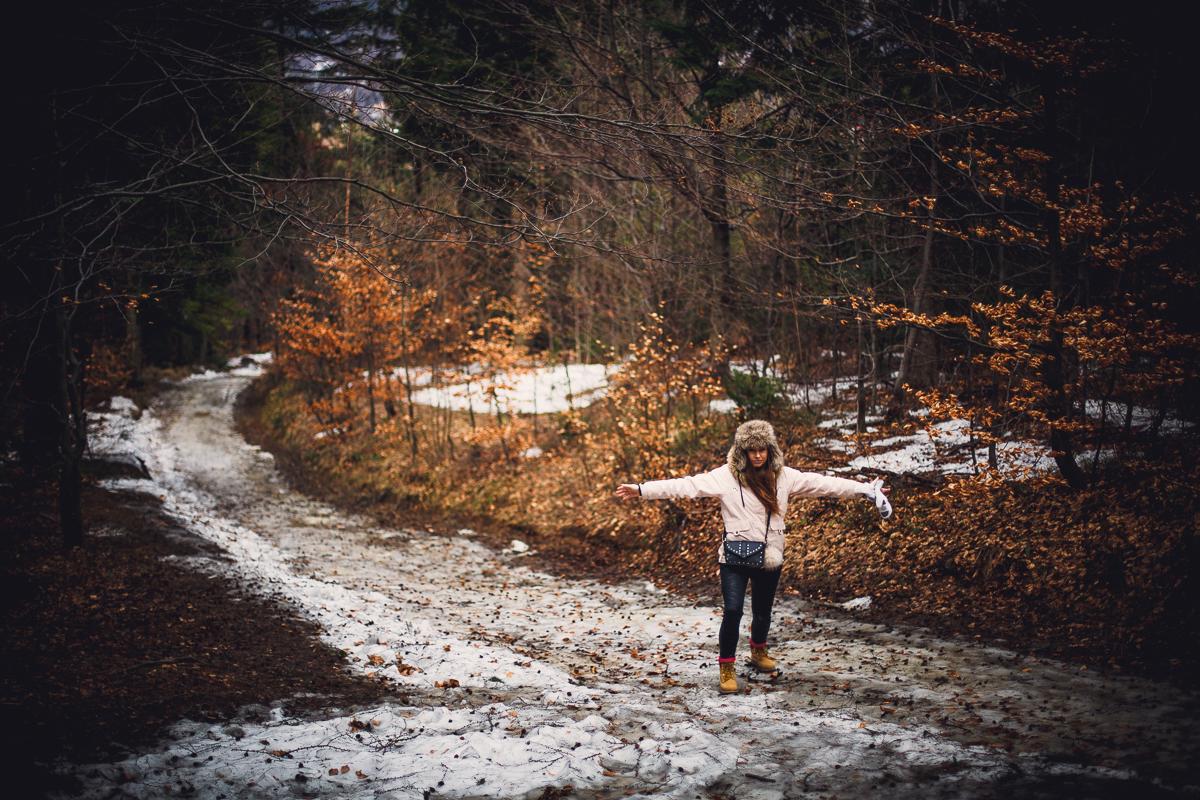 Szczyrk Skrzyczne spacer zielonym szlakiem fotografie-10