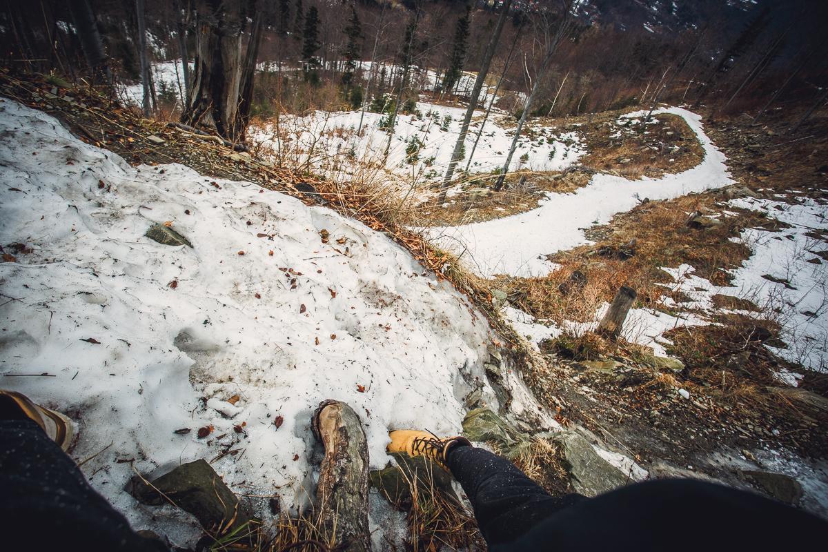 Szczyrk Skrzyczne spacer zielonym szlakiem fotografie-20