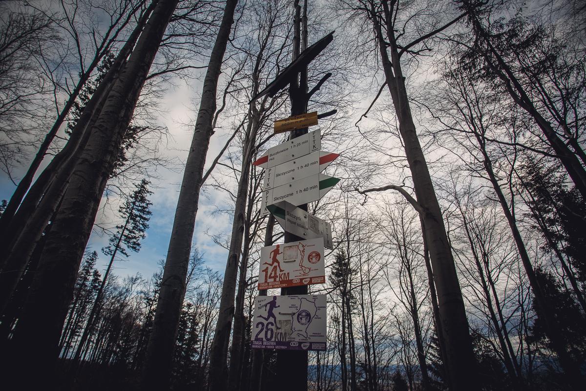 Szczyrk Skrzyczne spacer zielonym szlakiem fotografie-22