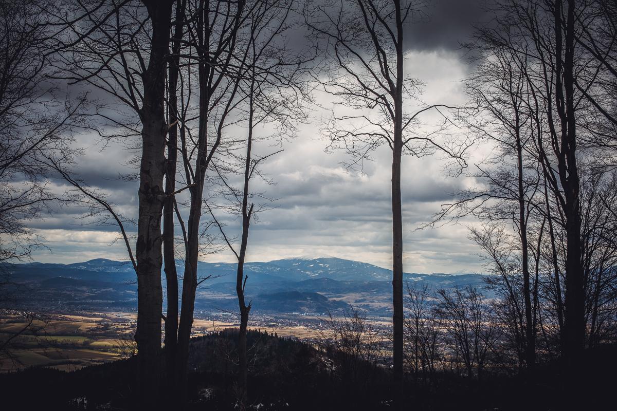 Szczyrk Skrzyczne spacer zielonym szlakiem fotografie-23