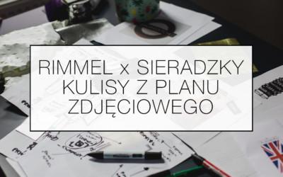 Rimmel x Sieradzky – kulisy z planu zdjęciowego