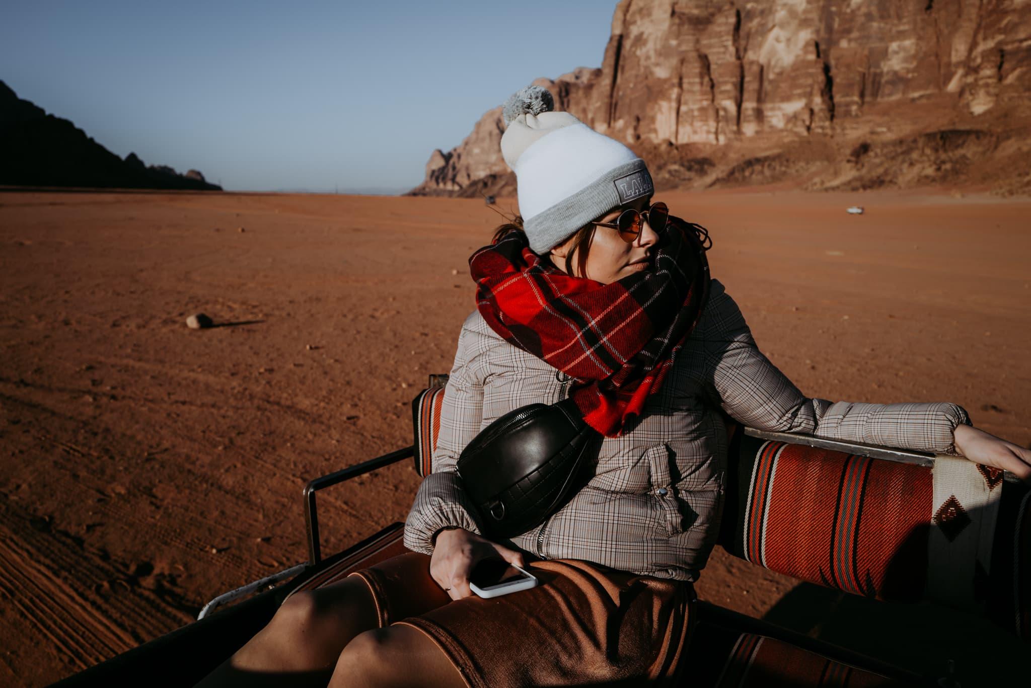 Jordania pustynia
