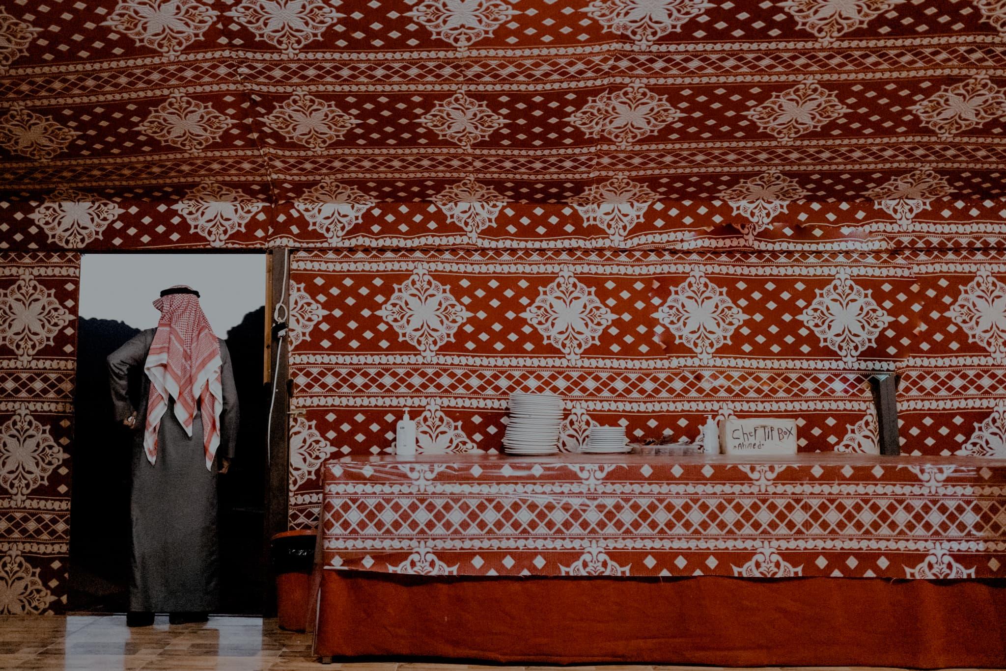 wadirum quiet village camp Jordania